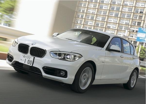 BMW 118d/全長×全幅×全高:4340×1765×1440mm、エンジン:2L、直4ディーゼルターボ、最高出力/最大トルク:150ps/32.6kgm
