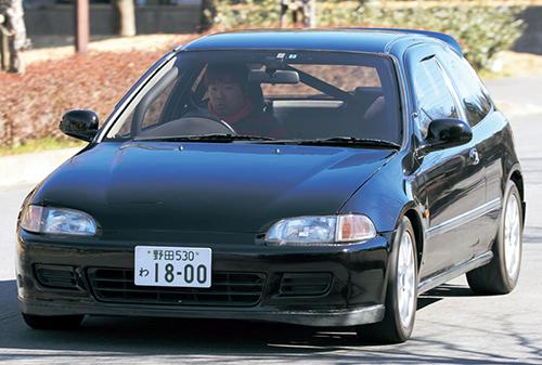 デビューが'90年代初頭だったということもあり、もはや中古市場には良質なタマがあまり残っていないEG型シビックだが、良コンディション車には高値が付く