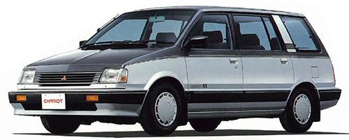 ライバルに追いつけとばかりにリリースされた背高のっぽ車。ベースは初代ミラージュ