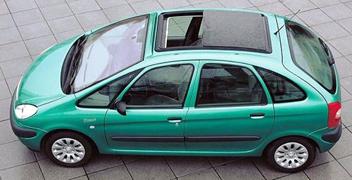 ヨーロッパ市場で大人気になったC4ピカソの前身モデル