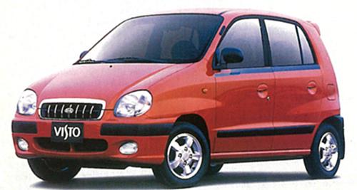 韓国起亜のハイト系ワゴン。800㏄エンジンを搭載し、54psを発揮。2003年まで生産