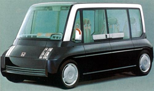 ホンダが1999年の東京モーターショーで発表したコンセプトモデル。モビリオの元祖か?