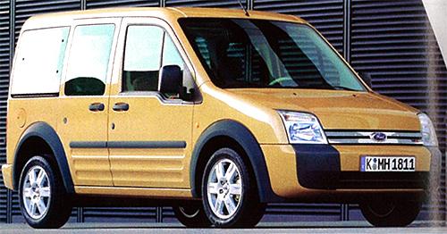 フォードが言うところのスマートMPVモデル。写真は標準ルーフ