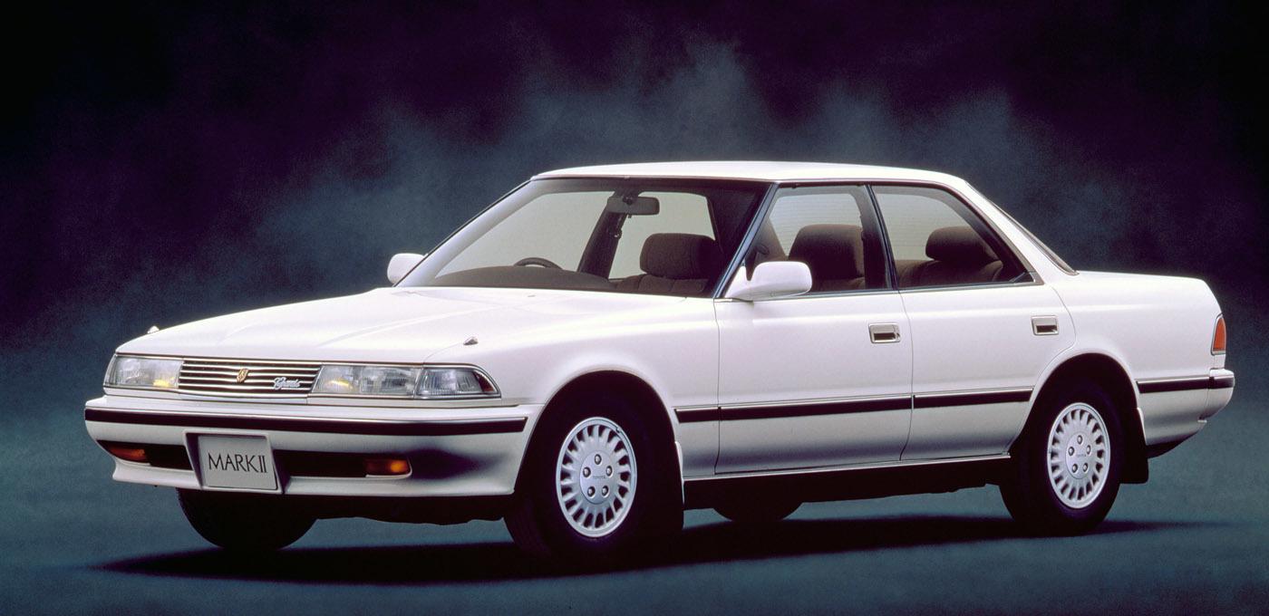 トヨタ(6代目)マーク2(1988年式)