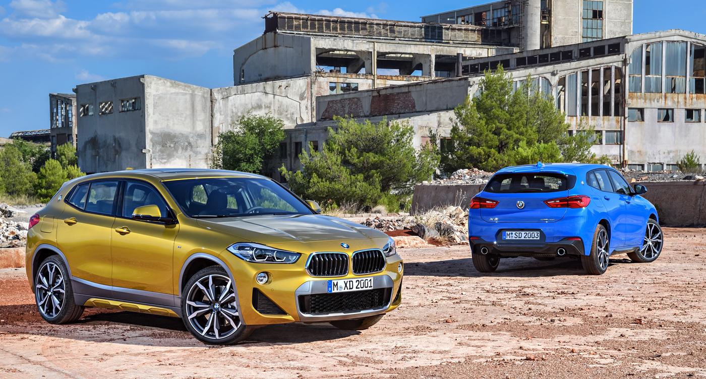 BMW X2。436万円〜515万円