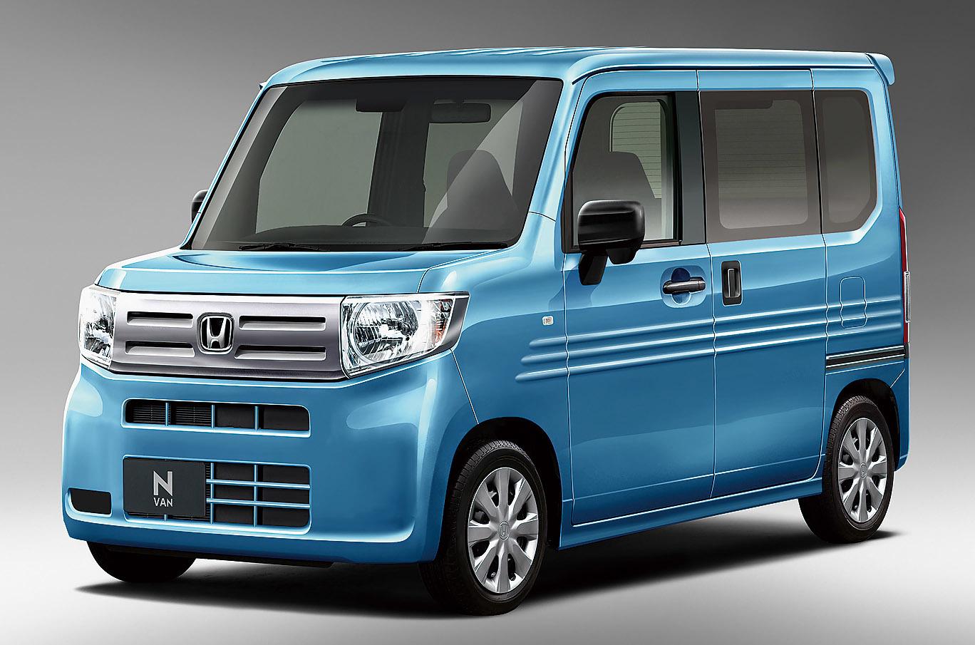 ホンダ新型N-VAN(本誌予想CG)