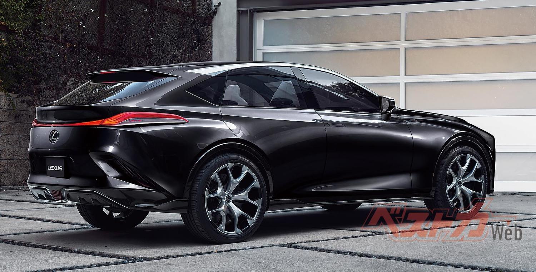 流麗なデザインのクーペ型SUVは世界的なブームとなっており、そこにレクサスが乗り込むことになる