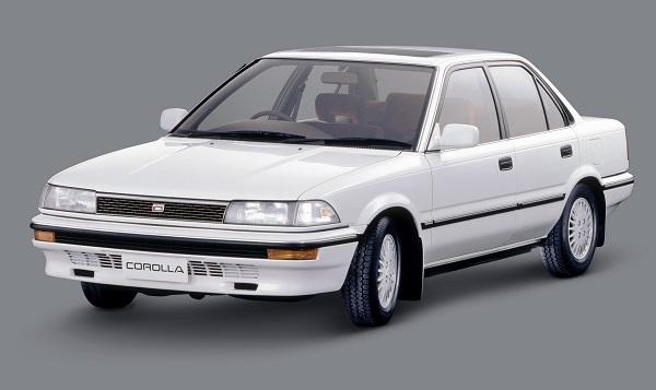 1988年登場の6代目カローラ