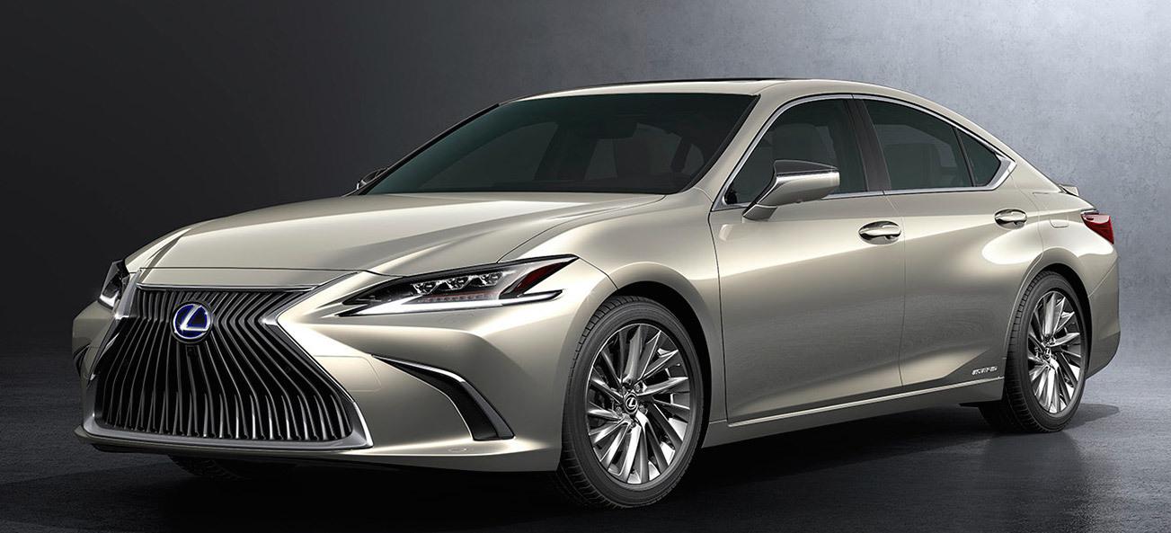 2018年4月に開幕した北京モーターショーで世界初披露となった新型レクサスES。日本導入は年内と公表された