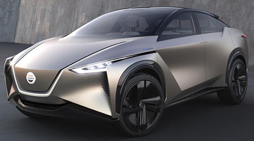 '20年の登場が予想される新開発クロスオーバーEVのIMx。新しい自動運転技術も投入し、話題を呼びそうだ