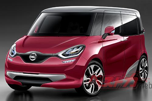 キューブの後継車となる2列シートのコンパクトカーもeーPOWER搭載車となること確実。2021~2022年の登場が予想される