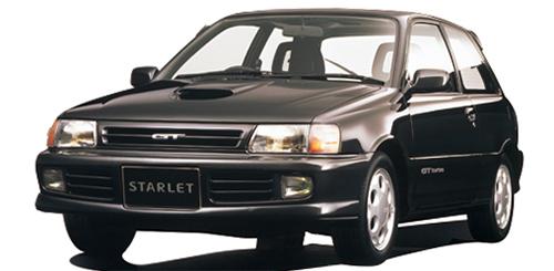 89年登場のスターレットGTは135ps発生の1.3ℓターボを搭載