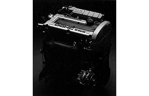 発売当時145ps/21.0㎏mを発生した4G61、1.6ℓインタークーラーターボは、'89年のMC後に160ps/22.5㎏mにパワーアップした