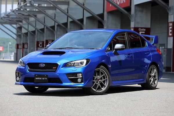 WRXが象徴するようにスバル=ブルーのイメージは強い。同車はほかにホワイト、シルバー、グレー、ブラック、レッドの計6色を設定