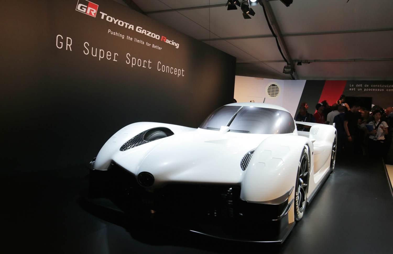 GRスーパースポーツコンセプトは、ル・マン24時間レース期間中、会場内ファンビレッジのTOYOTA GAZOO Racingブースに展示されている