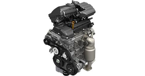 軽の3気筒エンジンはどれも似ているが、排気量1Lを超えると差がでる