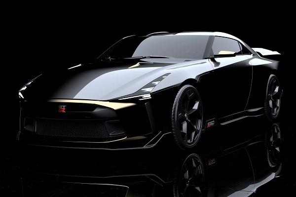 日産が6月29日に発表したGT-R50byイタルデザイン。7月12日に英国で行われるグッドウッド・フェスティバル・オブ・スピードで初公開される