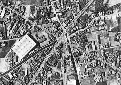 こちらは1963年頃の菅原橋交差点