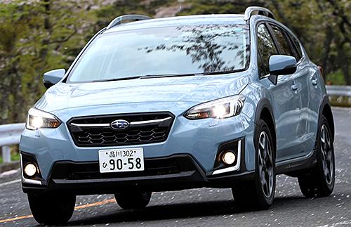 スバル最新モデルのXVは価格と性能のバランスのよさでヒット中。安全性の高さも魅力