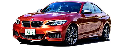 【ライバル一番手】BMW2シリーズクーペ。ベーシックな220iクーペは184psの2Lターボ+8ATで価格は515万〜537万円