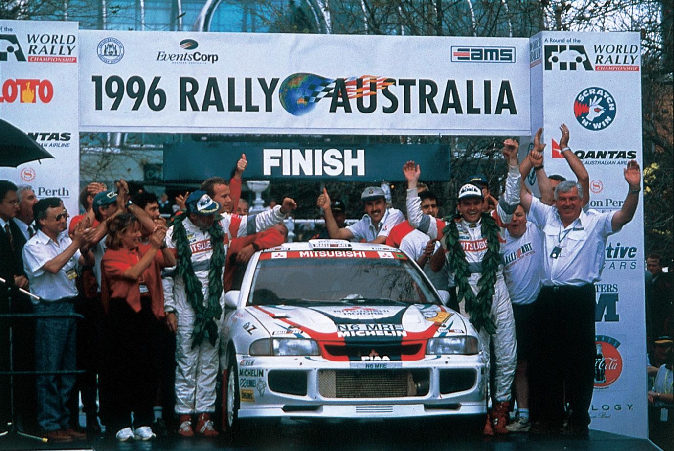 世界ラリー選手権(WRC)で無敵の快進撃を続けたランエボ
