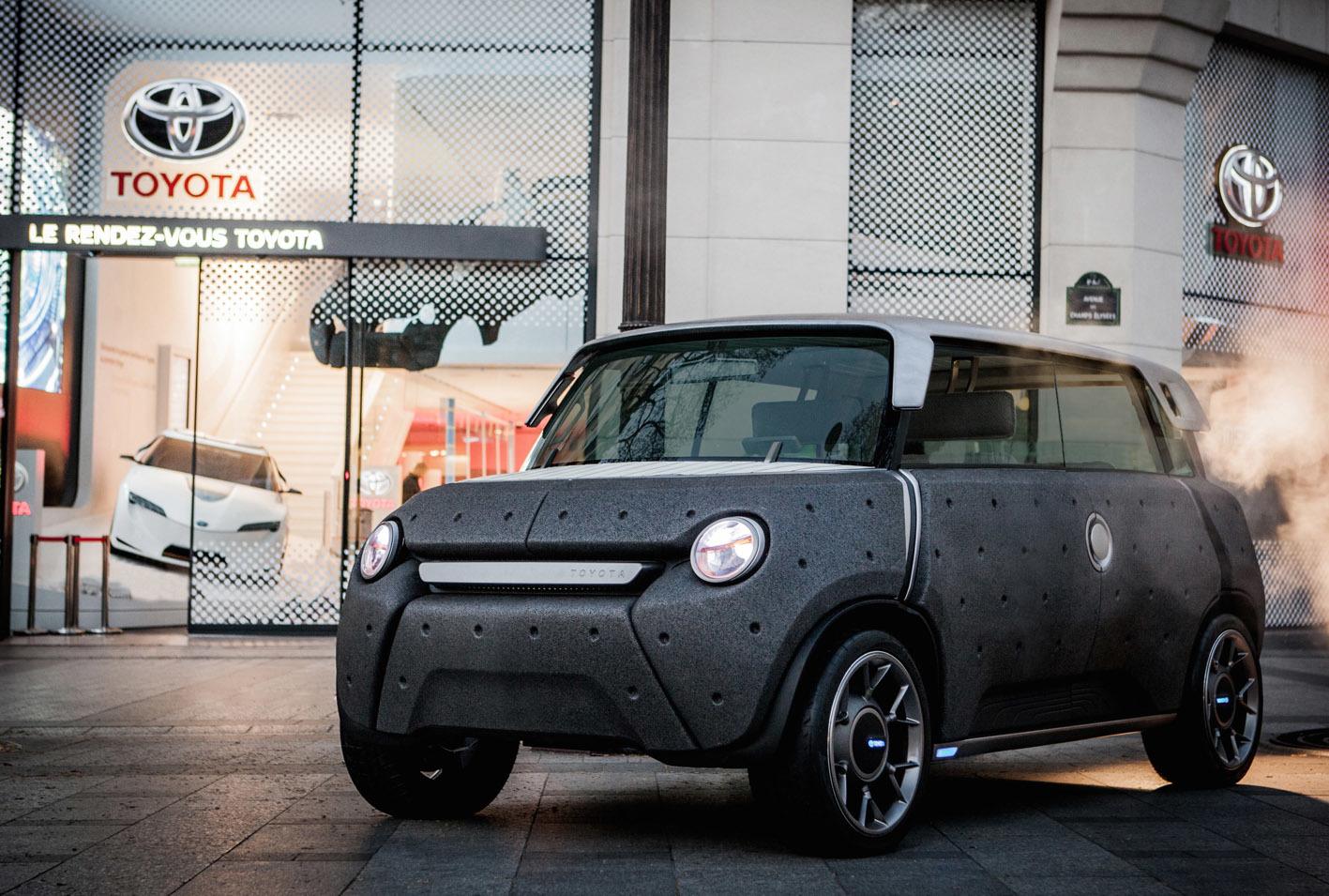 欧州トヨタが発表したコンセプトカー「ME.WE」。夢のクルマかと思われていたが、案外作り込まれている