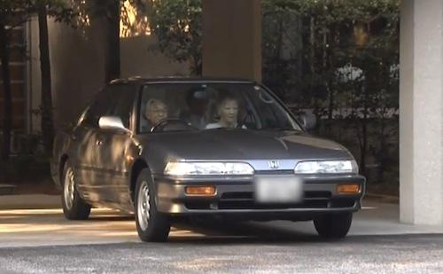 天皇皇后両陛下が週末にドライブをされる様子(政府インターネットテレビより)
