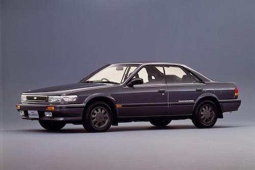 8代目のブルーバードには、スカイラインGT-Rにも搭載されたセンターデフ式4WDの「アテーサ」を搭載していた