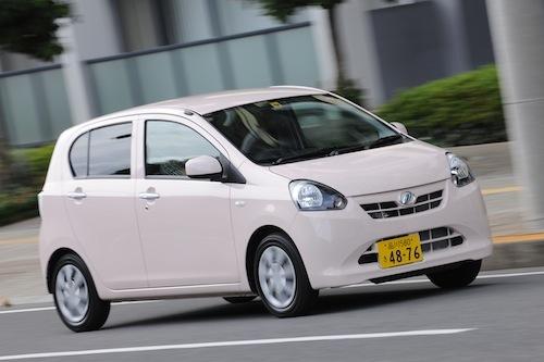 燃費のいい軽自動車の代名詞のミライース。相場に動きはなく買いで問題なし