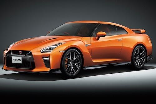 2018年モデルのGT-R。最安グレードのピュアエディションが1000万円を突破したのは発売以来初