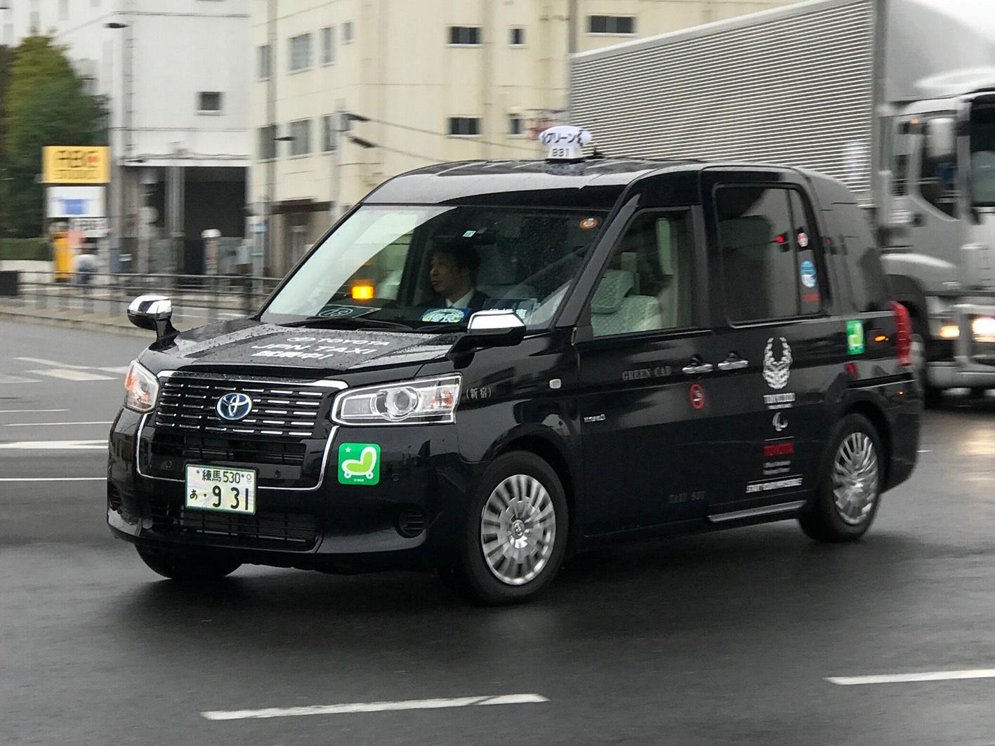 すでに全国で配車が始まっているジャパンタクシー