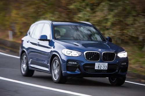 BMW X3/全長×全幅×全高:4720×1890×1675mm
