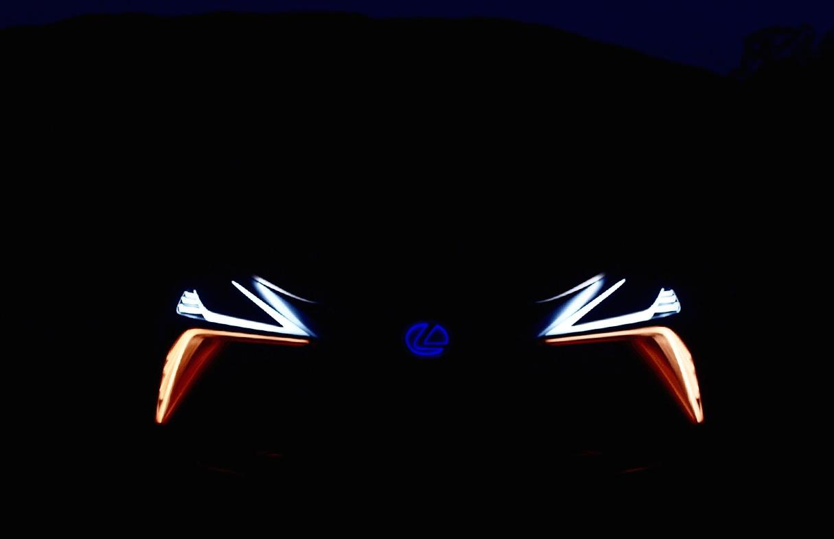 今回公開されたティザー写真。Lexus LF-1 Limitlessの正面フロントマスク