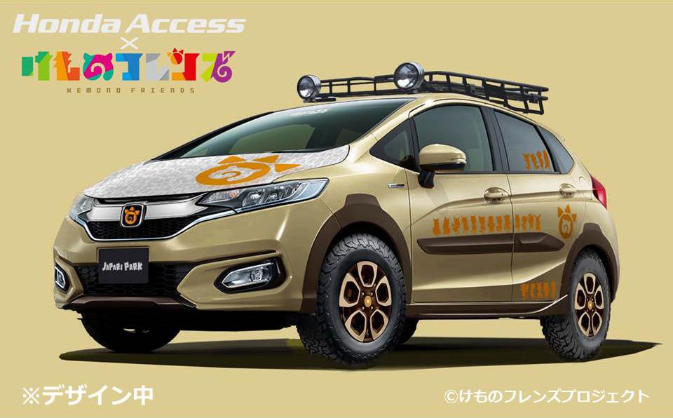 ベース車両:フィット HYBRID・F CROSS STYLE(純正アクセサリー)装着車