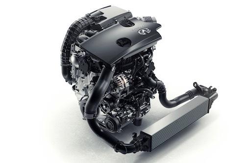 可変圧縮比のVCエンジン。2Lながら272ps/390Nmというパワー&トルクを発揮