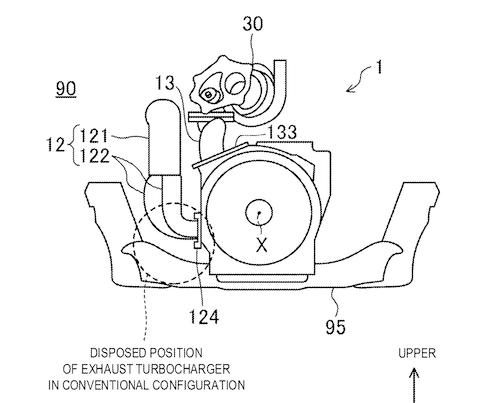 見よ、この低さを!! これならばRX-VISIONにも積載できる!! ちなみにこの特許は2014年に申請されており、ロータリー研究が続いている証でもある