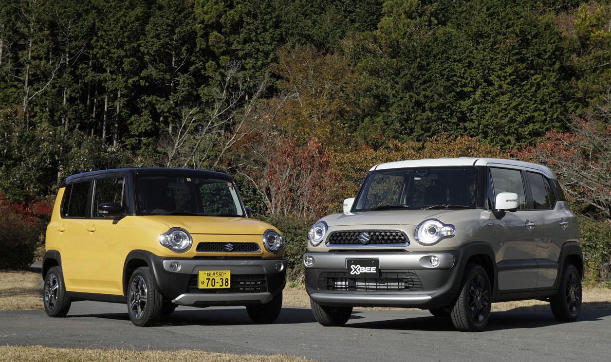 並べてみると、両車でかなりイメージが異なることがわかる