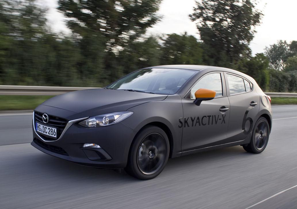 大幅な燃費向上とトルクアップの両立が期待できるSKYACTIV-X。課題はあれど、すでに試乗できる段階