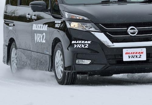 東北・北海道などで絶対的信頼を集めるブリザックVRX2。その性能はアイスガード6と共にまさに日本最上級