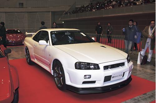 日産 R34 スカイラインGT-R/落札価格:3520万円(2001年式)