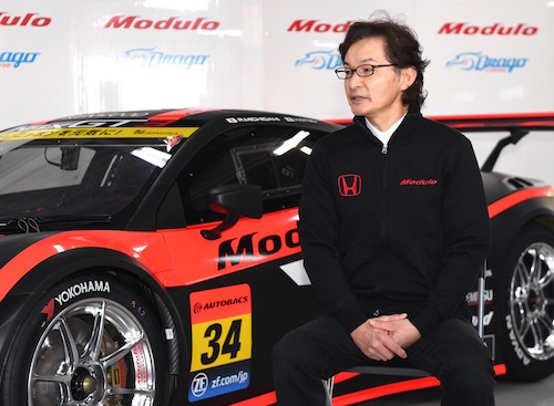 福田氏はモデューロの開発トップ。理論派の開発者としても有名だ