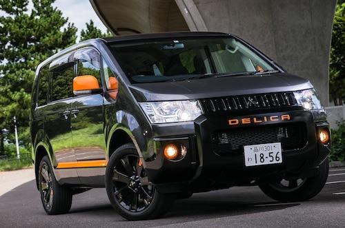 デリカは唯一無二な感じが凄いがいまでもそれが支持され三菱の登録車ではトップの販売台数だ