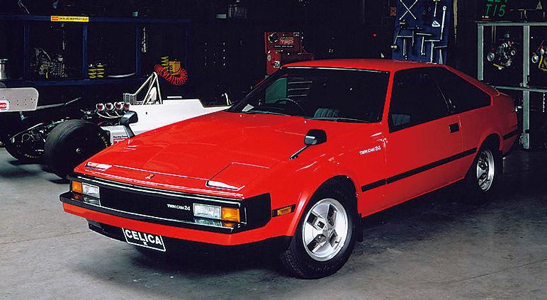 2代目セリカXX(1981年~1986年)/2代目XXは一転してスポーティ路線へと変更