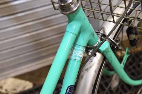 洗浄後の「みどり号」。ブラシなどは使っていない。なかなかよさそうでしょう?
