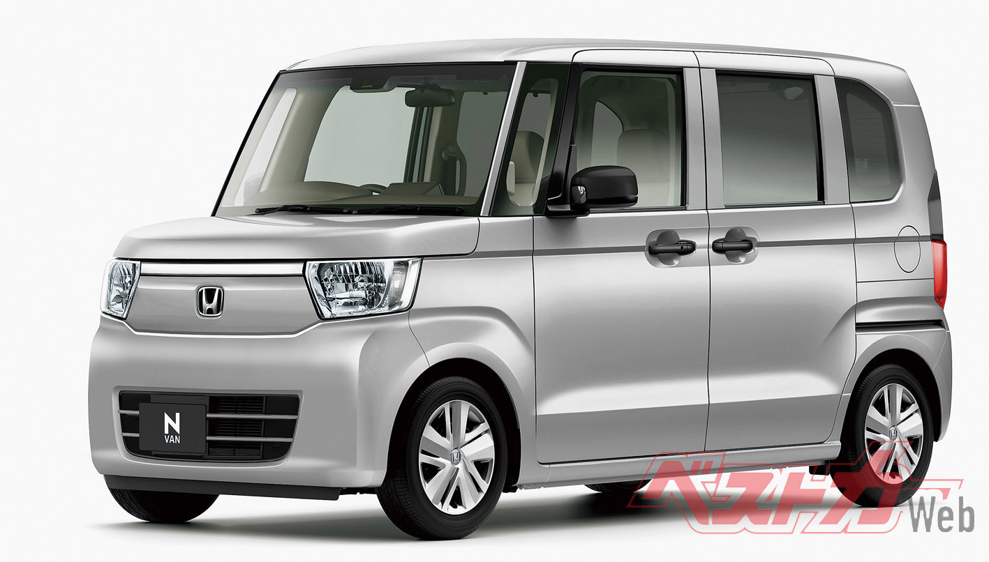 今夏デビュー予定のN-VAN。ハイルーフワゴン初の軽商用車となる