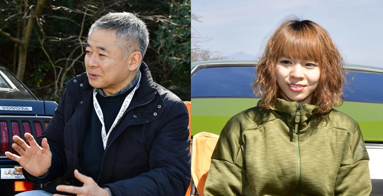 中垣さん(写真左)と綾花さん(同右)。取材現場に「オーナーです」と言って綾花さんが現れた時には(美人で)取材陣一同ひっくり返りました