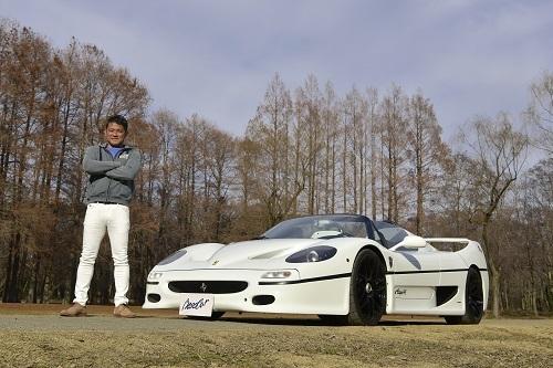 今回取材に協力してくださったオーナーの藤澤哲也氏。かつてはフォーミュラNipponにも参戦した実業家だ