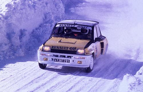 WRCでは1981年のモンテカルロや'82年のツールドコルスなど4勝を挙げ、フランス人ドライバー、ジャン・ラニョッティがそのうち3勝している
