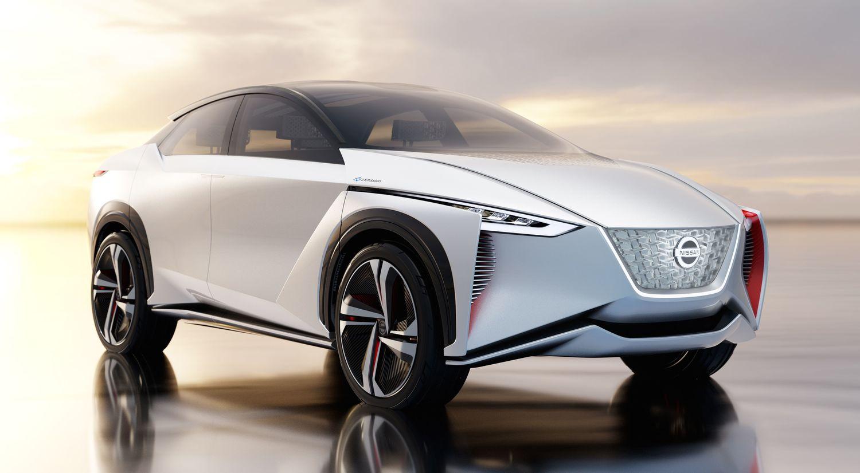2017年の東京モーターショー、日産ブースの主役となったのは電気自動車SUV「IMx」だった
