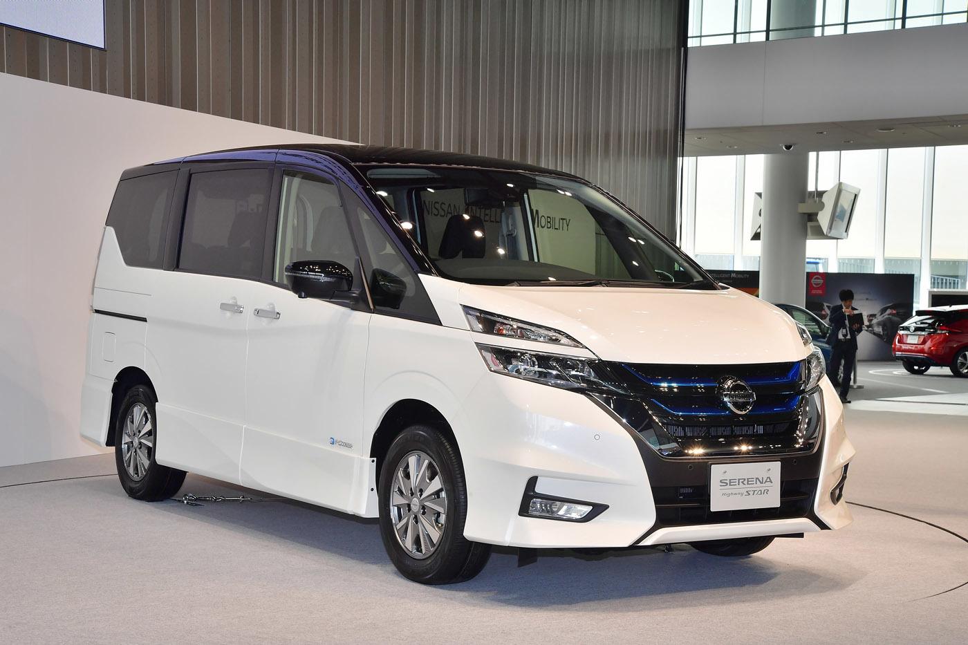 セレナe-POWER。発表会は横浜の日産グローバル本社で実施